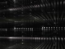 Abstrakt datacenter - digitalt frambragd bild Royaltyfri Bild