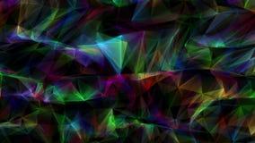 Abstrakt dator frambragd geometrisk rörelse för sömlös ögla