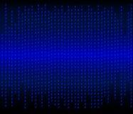 Abstrakt datorkod Fotografering för Bildbyråer