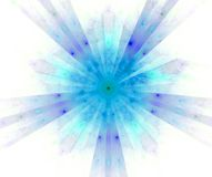 abstrakt de fractal stjärna Arkivbild