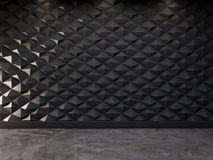 Abstrakt dekorativ bakgrund för vägg 3d, tolkning 3d Arkivbilder