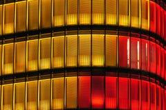 Abstrakt dell'edificio per uffici Immagini Stock Libere da Diritti
