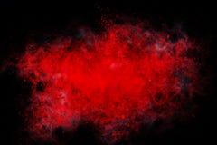 Abstrakt design av röd färg Fotografering för Bildbyråer