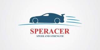 Abstrakt design för sportbil Fotografering för Bildbyråer