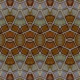 abstrakt design med exponeringsglaskvarter i bruna färger, bakgrund och textur stock illustrationer