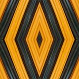 abstrakt design med stycken av plasticinestänger i färger apelsin och svart, bakgrund och textur Royaltyfria Bilder