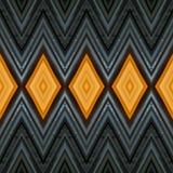 abstrakt design med stycken av plasticinestänger i färger apelsin och svart, bakgrund och textur Fotografering för Bildbyråer