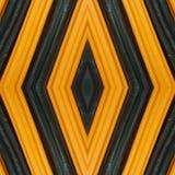 abstrakt design med stycken av plasticinestänger i färger apelsin och svart, bakgrund och textur Royaltyfri Bild