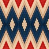 abstrakt design med stycken av plasticinestänger i färger vit, blått och rött, bakgrund och textur Royaltyfri Fotografi