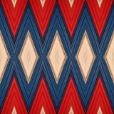 abstrakt design med stycken av plasticinestänger i färger vit, blått och rött, bakgrund och textur Royaltyfri Bild
