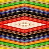 abstrakt design med stycken av plasticinestänger i olik färger, bakgrund och textur Royaltyfria Foton