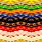 abstrakt design med stycken av plasticinestänger i olik färger, bakgrund och textur Royaltyfria Bilder