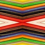 abstrakt design med stycken av plasticinestänger i olik färger, bakgrund och textur Arkivbild