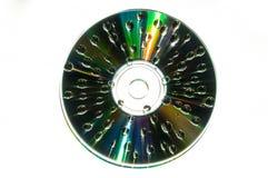 Abstrakt design som göras över en CD Fotografering för Bildbyråer