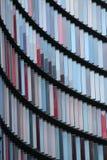 Abstrakt design som presenterar pastellfärgade rektanglar Arkivbild