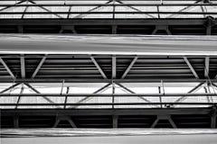Abstrakt design som upprepar strukturen Arkivbilder