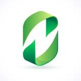 Abstrakt designbegrepp, pictogram eller logotyp Arkivfoto