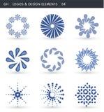 abstrakt designelement vektor illustrationer