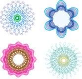 abstrakt designelement royaltyfri illustrationer