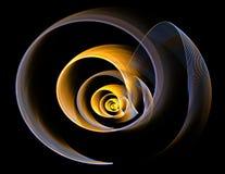 abstrakt designfractal Royaltyfria Bilder