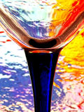 abstrakt designglasföremål Fotografering för Bildbyråer