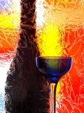 abstrakt designglasföremål royaltyfri fotografi