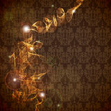 abstrakt designlampawallpaper Royaltyfri Fotografi