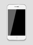 Abstrakt designmobiltelefon. Vektorillustration Arkivfoton