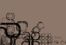 abstrakt designmontage royaltyfri illustrationer