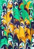 abstrakt designoljemålarfärg Royaltyfri Bild