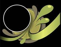 abstrakt designramstil stock illustrationer