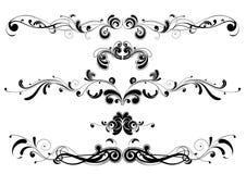 abstrakt designswirl Royaltyfri Bild