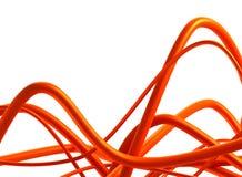 abstrakt designswirl för bakgrund 3d Royaltyfri Foto