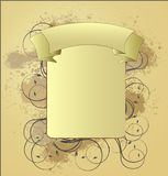 abstrakt designvinatge Arkivbild