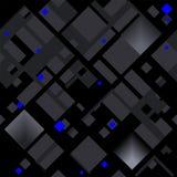 Abstrakt diagonal modell som baseras på fyrkantiga former vektor illustrationer
