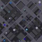 Abstrakt diagonal modell som baseras på fyrkantiga former royaltyfri illustrationer