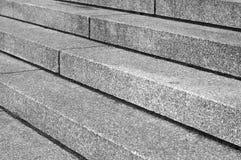 Abstrakt diagonal trappa i svartvitt Arkivbild