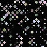 Abstrakt diagonalfyrkantmodell - design för bakgrund för vektormosaiktegelplatta Royaltyfria Foton