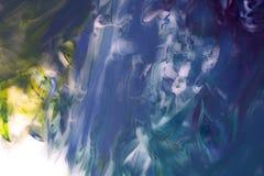 Abstrakt diagram gouache på kanfas Arkivbild