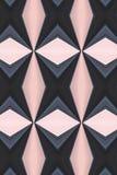 abstrakt diamant Arkivfoton