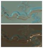 Abstrakt digital bakgrund Royaltyfri Fotografi