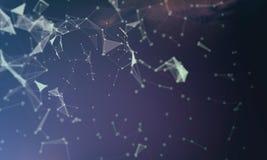 Abstrakt digital bakgrund för diverse bruk Royaltyfria Bilder