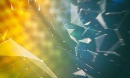 Abstrakt digital bakgrund för diverse bruk Royaltyfri Bild