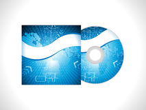 Abstrakt digital cd räkningsbakgrund Fotografering för Bildbyråer