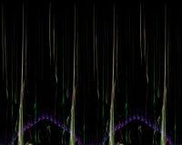 Abstrakt digital fractal, prydnad f?r design f?r modernt f?r best?ndsdelr?relse f?r garnering h?rligt kort dekorativ vibrerande stock illustrationer
