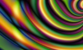 Abstrakt digital illustration Metallized tygmodell vektor illustrationer