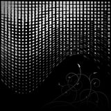 abstrakt din bakgrundsdesign Arkivfoton