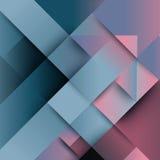 Abstrakt distorsion från pil formar bakgrund Royaltyfri Fotografi