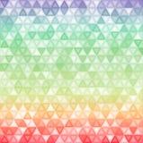 Abstrakt-Dreieck-Hintergrund-Karte-Schablone Lizenzfreie Stockfotografie
