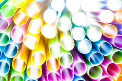 abstrakt dricka sugrör Royaltyfri Foto